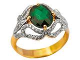 Fotolia nuotr./Žiedas su smaragdu