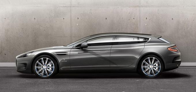 Gamintojo nuotr./Aston Martin Rapide Bertone