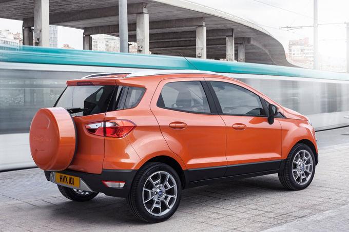 Gamintojo nuotr./Ford EcoSport