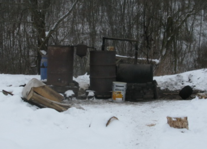 Aparatas naminei degtinei gaminti