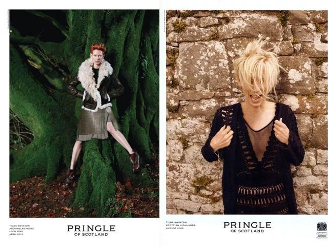 pringleofscotland.com nuotr./Aktorė net kelerius sezonus iš eilės buvo mados namų Pringle of Scotland reklaminis veidas.