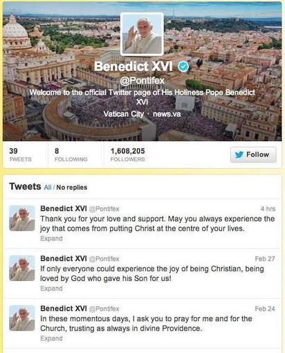 Taip @Pontifex atrodė anksčiau