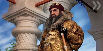 В. Жириновский превратился в Ивана Грозного