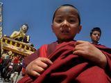 Tibetietis berniukas