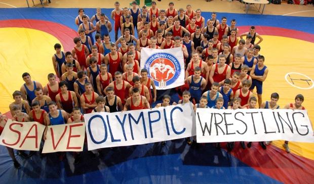 Išsaugokime imtynes olimpinėse žaidynėse.