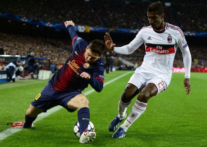 Rungtynių akimirka Barselonoje