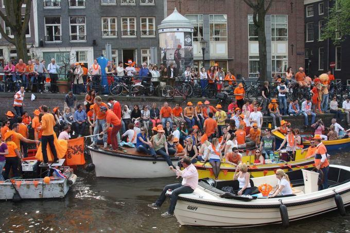 AD VERUM archyvo nuotr. /Karalienes gimtadienis Amsterdame
