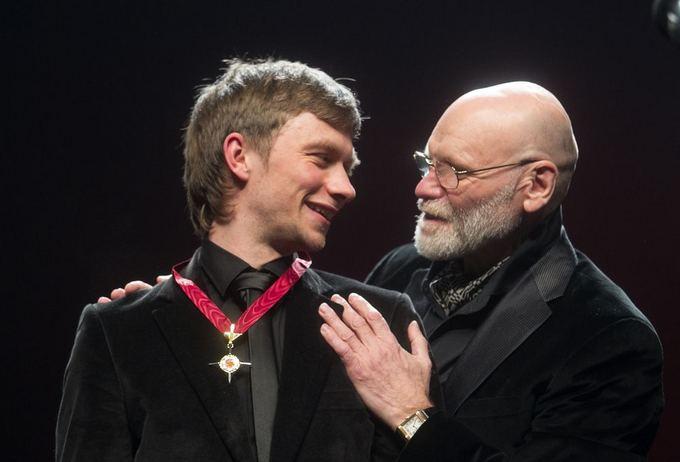Auksinių scenos kryžių apdovanojimų ceremonija.