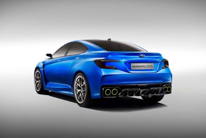 Gamintojo nuotr./Subaru WRX Concept