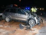 podlaska.policja.gov.pl nuotr./Automobilis po avarijos