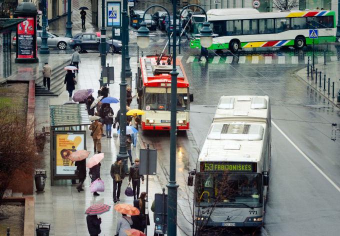 Vieaasis transportas Vilniuje