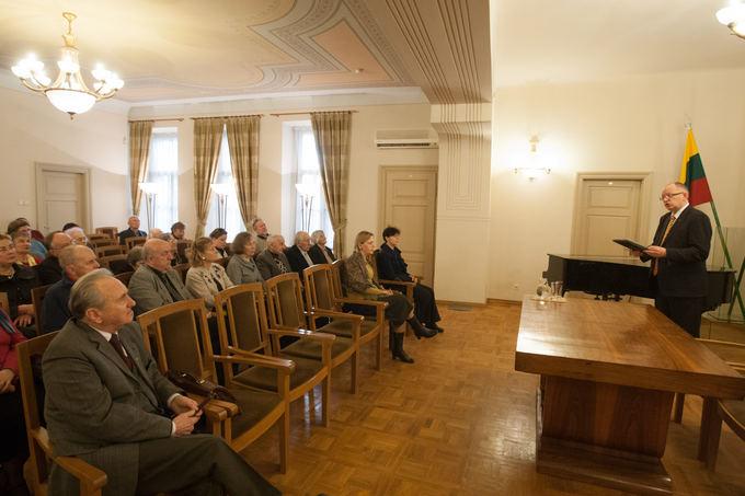 Pirmojo lietuviako laikraačio Auara 130-ųjų metinių minėjimas