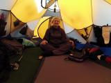 E.Nichols nuotr./Inside the tent