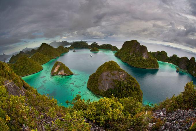 Raja Ampat sala Indonezijoje