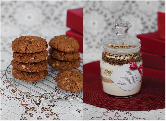 Astos Černės nuotr. / Sausainių miainys stiklainėlyje