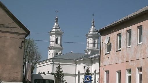 Žvilgsnis į Kalvarijos bažnyčią