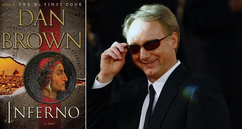 """Danas Brownas ir jo naujausia knyga """"Inferno"""""""