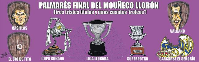 marca.com nuotr./Marca pieainys  J.Mourinho titulai Madride