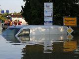 Scanpix nuotr./Potvynio nuniokotas Degendorfas
