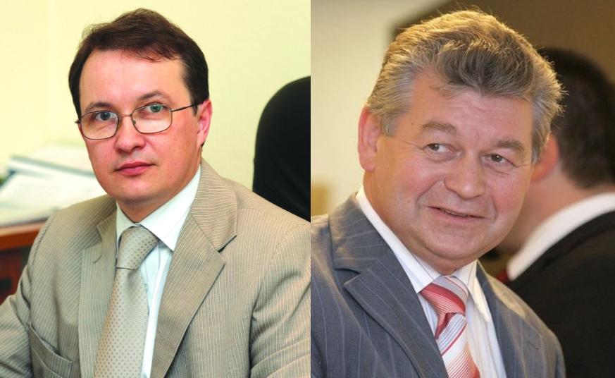 Renaldas Jurkevičius ir Juozas Pundzius (d.)