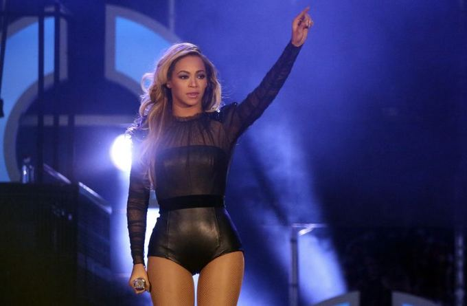 Beyonce neseniai vykusiame koncerte The Sound of Change Londone birželio 1 dieną.