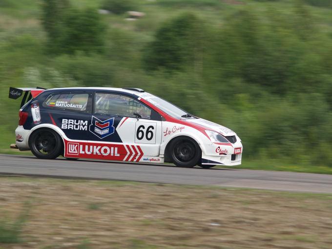 Audriaus Nutauto nuotr./Dainiaus Matijoaaičio Honda Civic