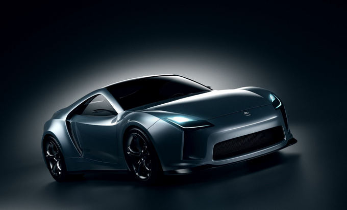 Andreaso Fougnerio nuotr./Toyota Supra automobilio vizija