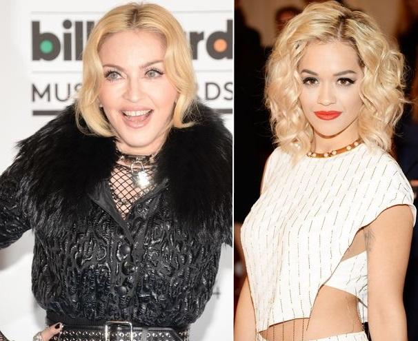 Rita Ora ir Madonna