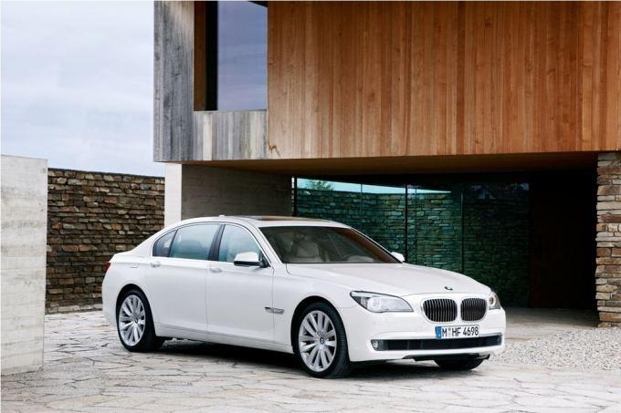 (nuotr. BMW)/Brangiausias automobilis  BMW 760Li