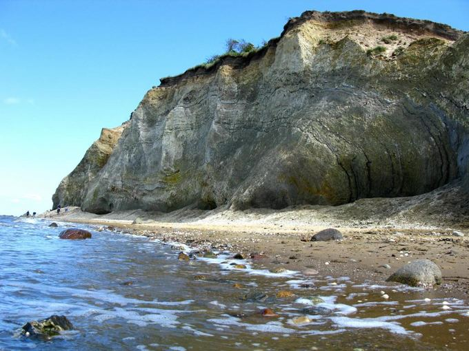 E.Karoblytės nuotr./Fosilijų paieakos Fur saloje