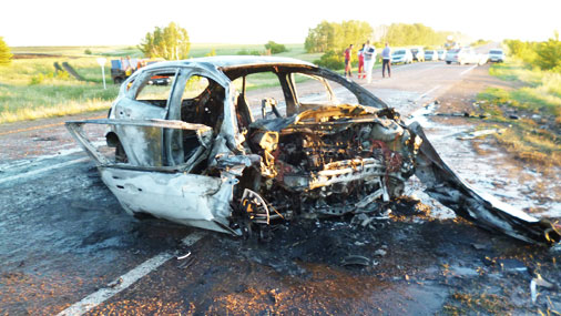 В страшной аварии погибли пять взрослых и двое детей
