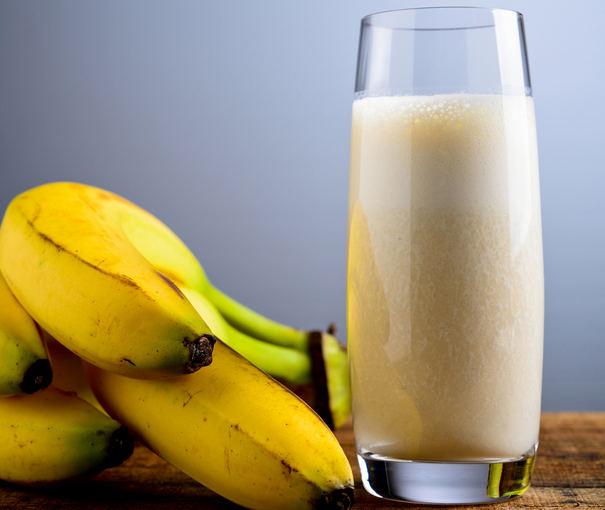Fotolia nuotr. / Bananų kokteilis