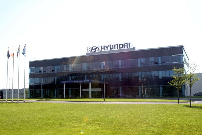 Pauliaus Sviklo/GAZAS.LT nuotr./Hyundai gamykla Čekijoje, Noaovico mieste