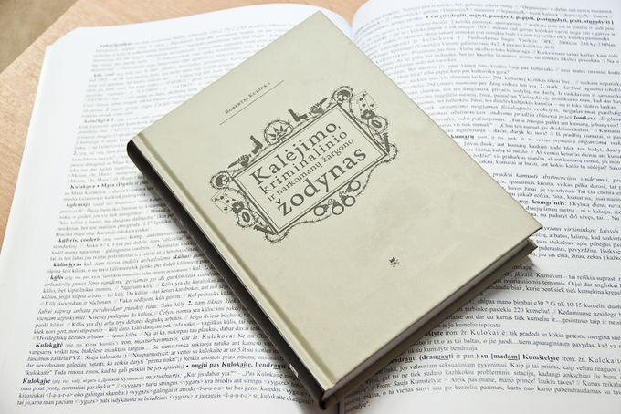 Docento Roberto Kudirkos sudarytas kalinių žodynas