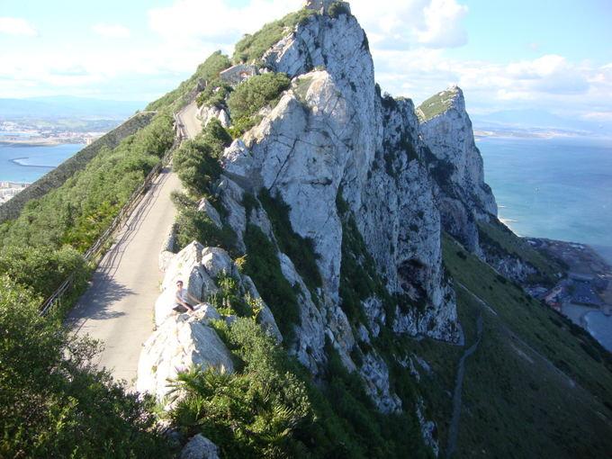 A.Lideikaitės nuotr./Gibraltaro viraukalnė