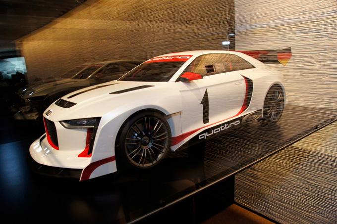 """Koncepcinis """"Audi Quattro"""""""