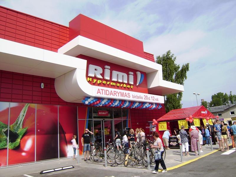 Naujausias prekybos centras - didžiausias Palangoje.
