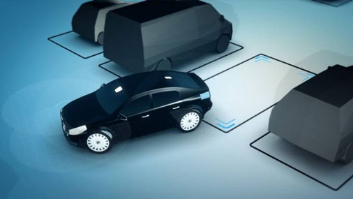 Volvo создала машину, которая сама находит место на парковке