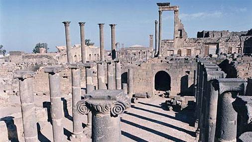 Cтарый город в Босре