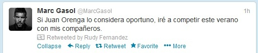 "twitter.com nuotr./Marco Gasolio žinutė ""Twitter""."