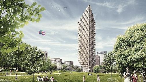 В Швеции построят самый высокий деревянный небоскреб