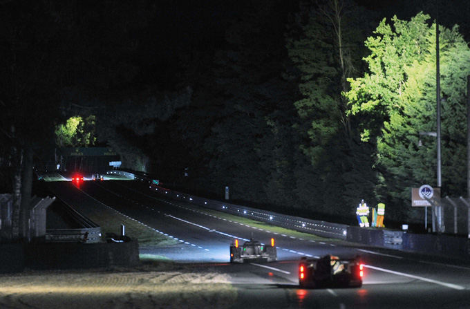 Le Mano lenktynės naktį