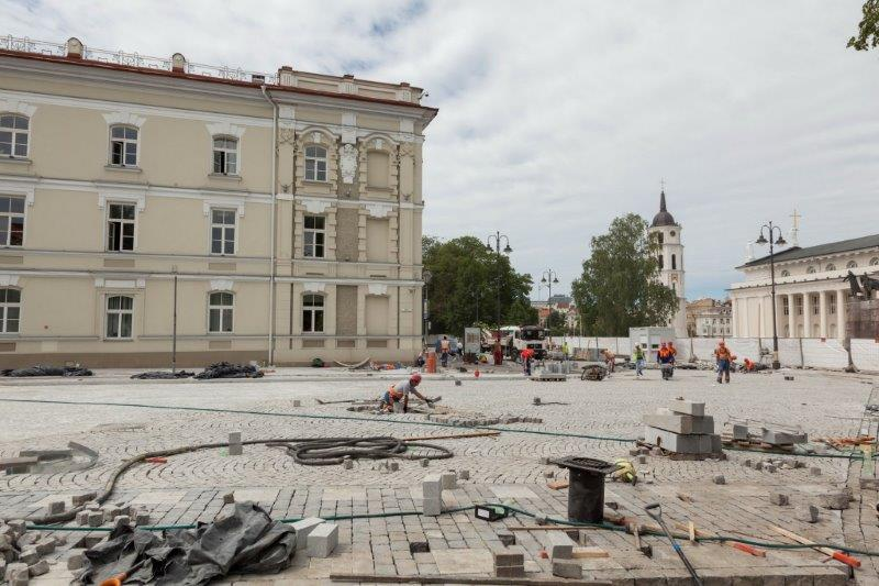 10 Vilniaus gatvių buvo sutvarkyta per pastaruosius kelis mėnesius
