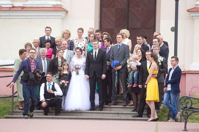Martyno Pociaus ir Viktorijos Kunauskaitė vestuvės