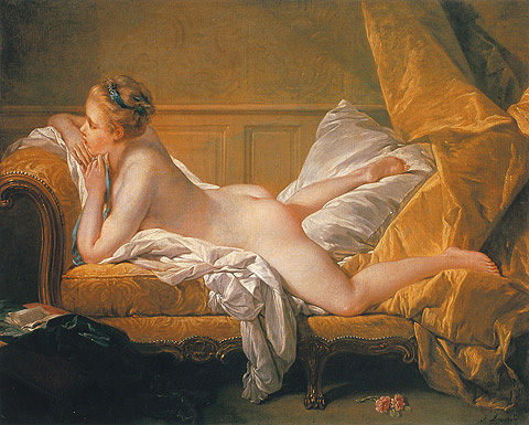 wallraf.museum nuotr. / Francois Boucher Resting Girl