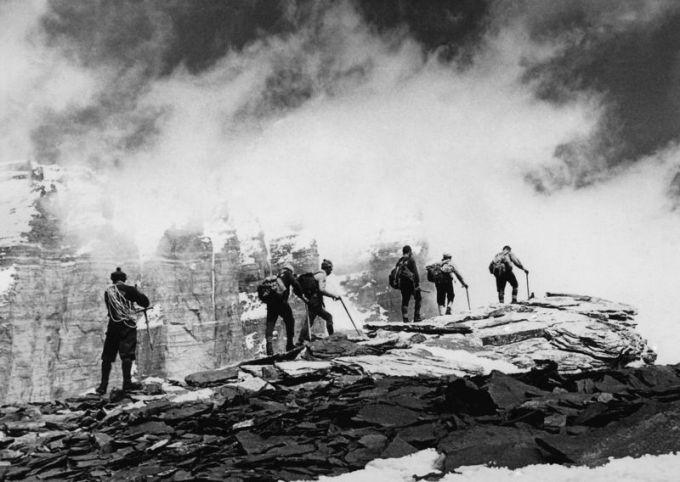 Nuotr. ia asmeninio archyvo/Lietuvos alpinistai pakeliui į Lietuvos viraūnę Pamyre, 1964 m.