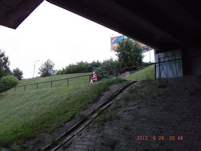 Vilniaus sav. nuotr./Iapaiayta viaduko atrama neseniai buvo nudažyta.