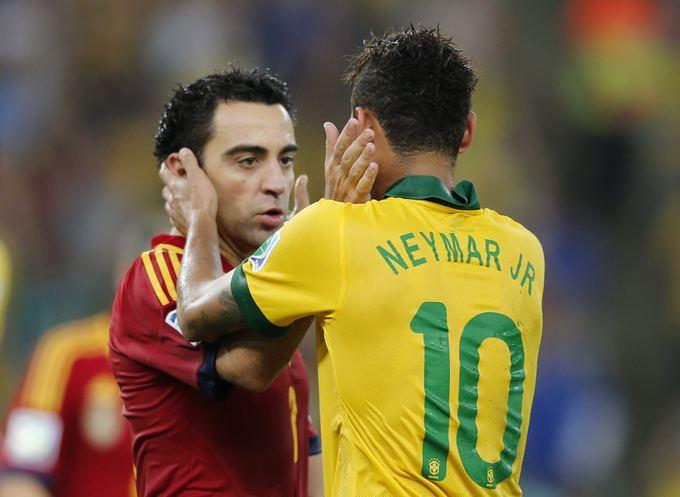 Xavi ir Neymaras
