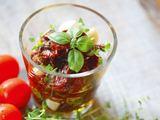 Aidos Chlebinskaitės nuotr. / Džiovinti pomidorai su česnakais