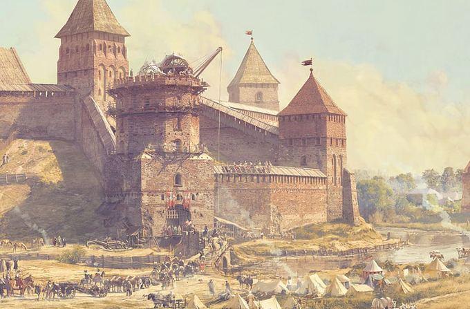 Trakų istorijos muziejaus nuotr./Naugarduko pilis